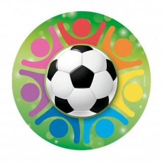placa obreia bola futebol
