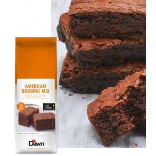 american brownie mix