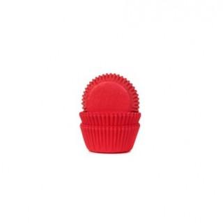 forma plissada vermelha