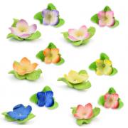 flores sortidas folha