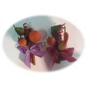 decoração ramos canela