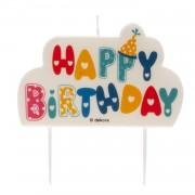 vela aniversario happy birthday