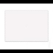 base bolo prato ala branco retangular
