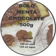 bolo menta chocolate