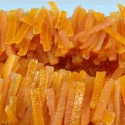 casca laranja tiras