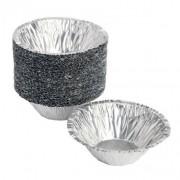 forma aluminio descartavel pastel nata