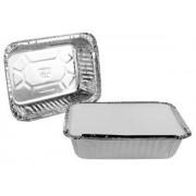 embalagem aluminio descartavel retangular