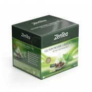 zentea gunpowder green tea peppermint