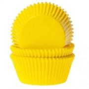 formas plissadas amarelo
