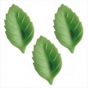 folha obreia verde claro 4.5cm