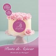 pasta açucar nova lusopastas rosa bebe
