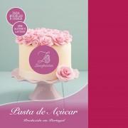 pasta açucar nova lusopastas rosa choc