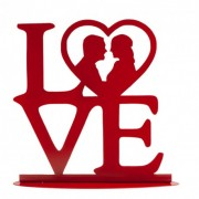 noivos silhueta love