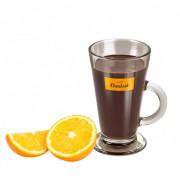 chocolate quente laranja