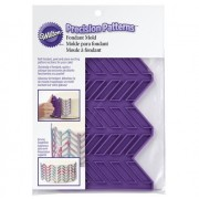 molde silicone wilton padrão precisão espinha
